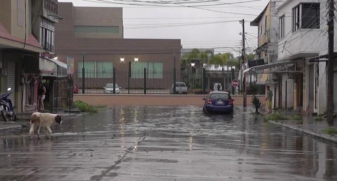 6 cantones de Los Ríos registraron fuertes lluvias