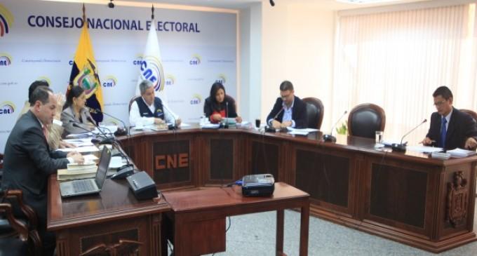 CNE convoca a conformar Colegios Electorales a Juntas Parroquiales