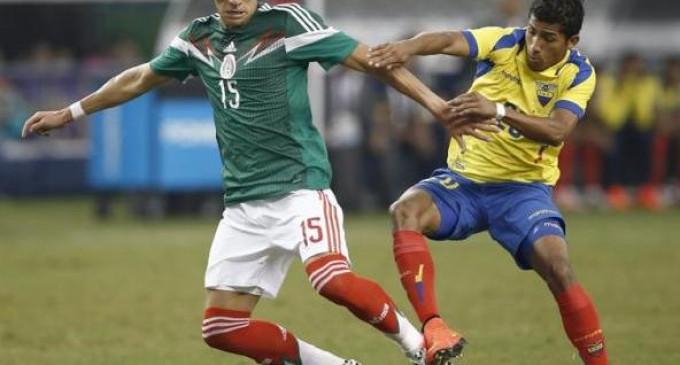 Ecuador no pudo frente a México