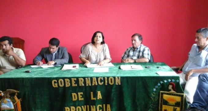 REUNION DE INTEGRANTES MESA PROVINCIAL AGRICOLA