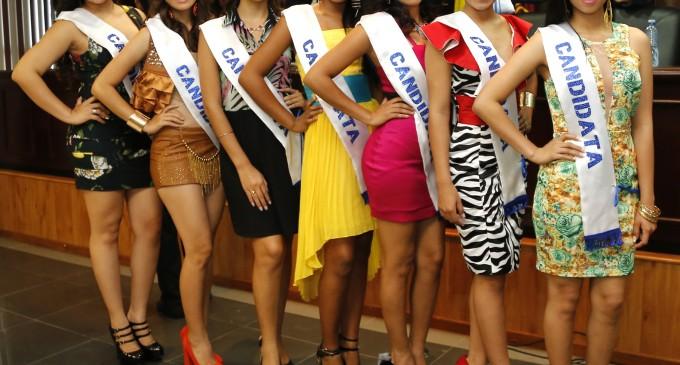GADM Babahoyo presentó candidatas a Reina.