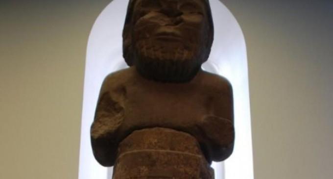 Hallan relieve de dios arameo en Siria