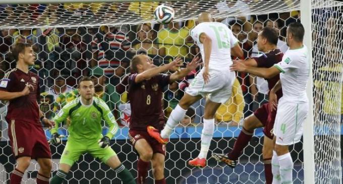 Argelia consiguió empatar ante Rusia y asegurar así su presencia en octavos.