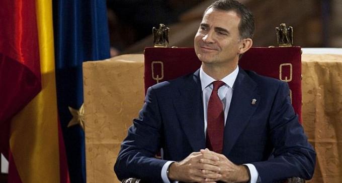 """Felipe de Borbón promete trabajar por una España """"unida y diversa"""""""
