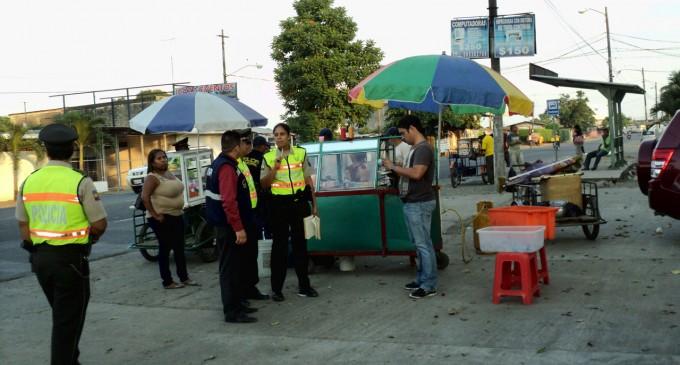 Ordenamiento de vía pública en Babahoyo