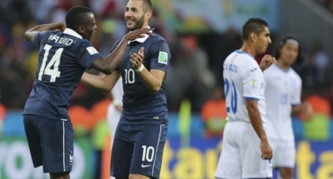 Francia se metió a octavos.
