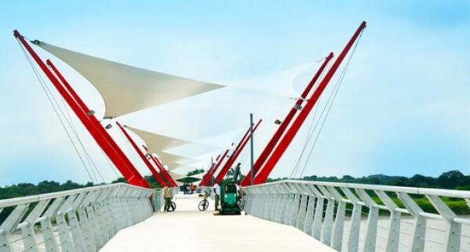 Puente peatonal y ciclovía Guayaquil – Isla Santay