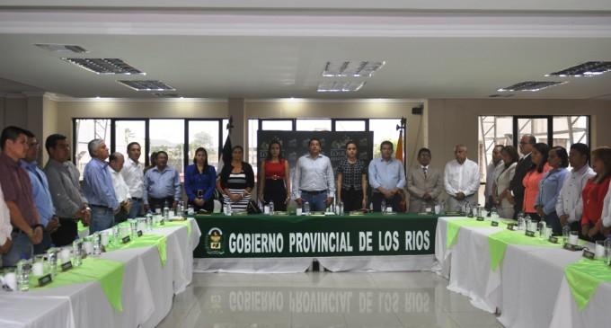 Nuevo Consejo Provincial de Los Ríos se reunió en Babahoyo