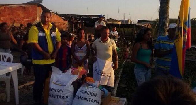 MIES responde a familias afectadas por incendio en Babahoyo