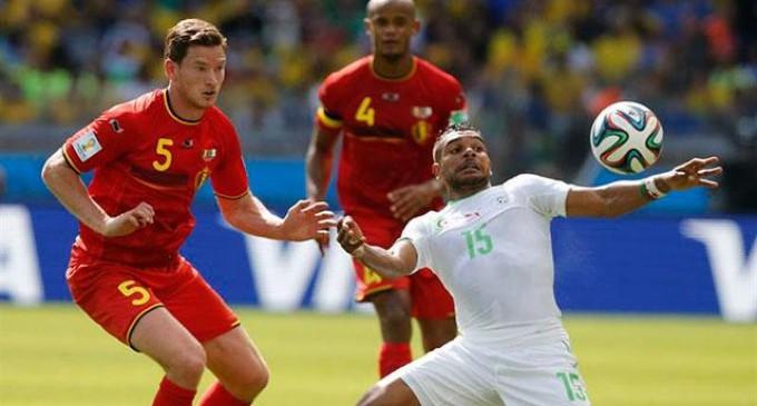 Bélgica paso sustos con Argelia.