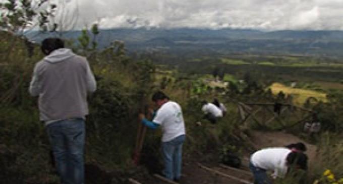 Con 150 especies de plantas se reforestaron los senderos de la Reserva Ecológica Cotacachi Cayapas