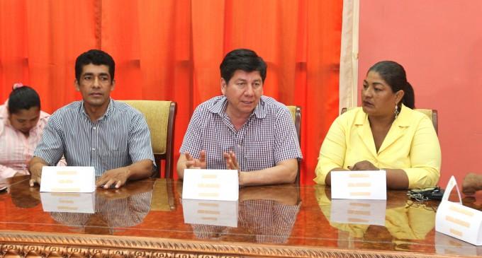 Reunión de trabajo en parroquias rurales