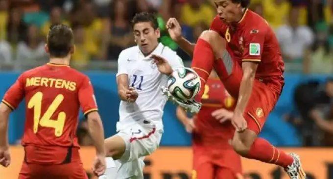 Bélgica se metra cuartos.
