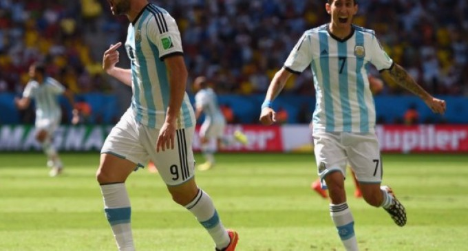 Argentina pasa a semifinales.