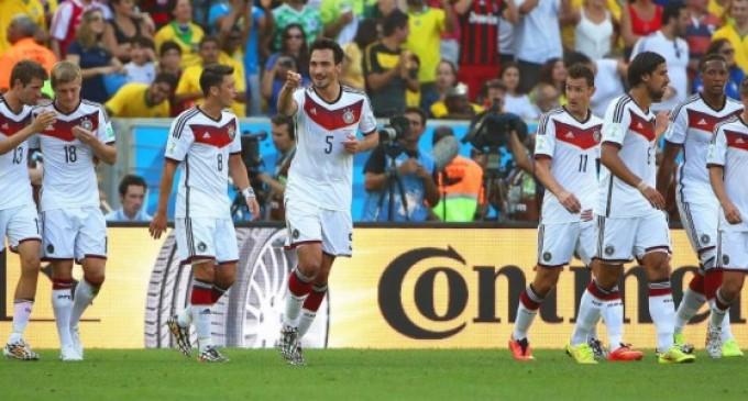 Alemania pasa a Semifinales por la mínima.