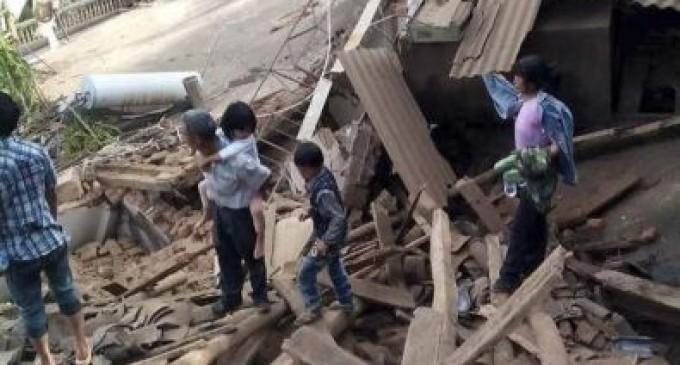 Terremoto en China deja al menos 175 muertos