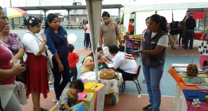 Juegos recreativos se presentaron en casa abierta en Babahoyo