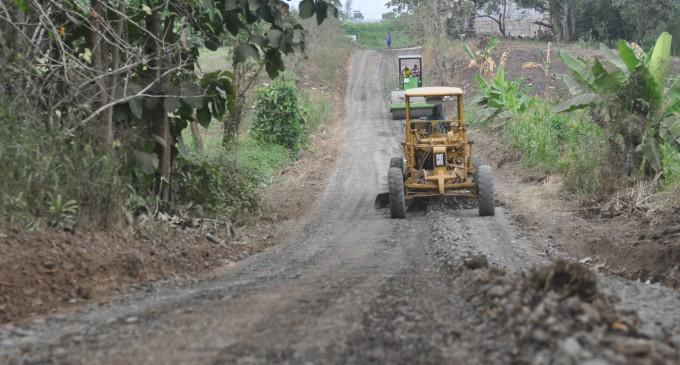 Arreglo de vías rurales