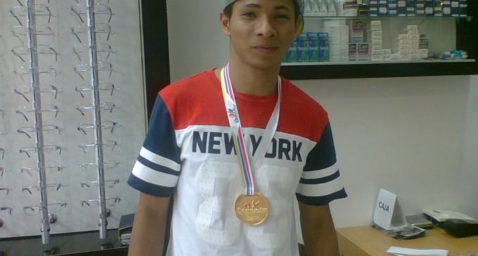 Diego Camacho, orgullo fluminense y nacional.