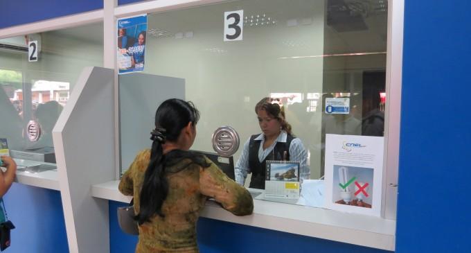 CNEL EP ofrece convenios de  pago para sus clientes en coactiva