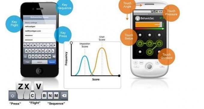 Llegan las contraseñas que miden la presión de los dedos en la pantalla del móvil
