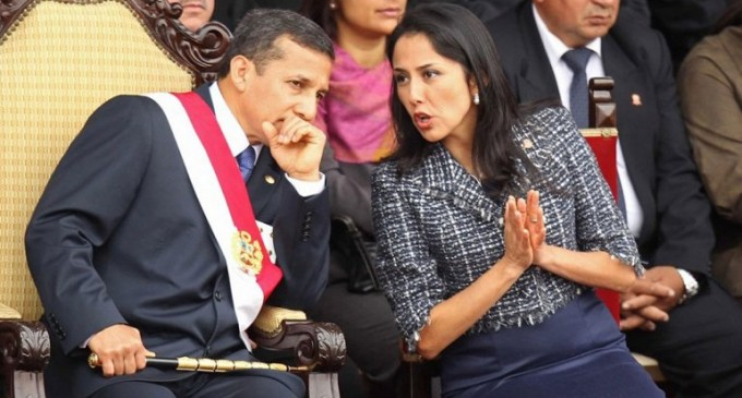 La primera dama de Perú desplazó al presidente como el personaje más poderoso del país