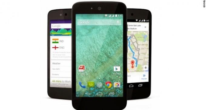 Google lanza 'smartphones' de 100 dólares