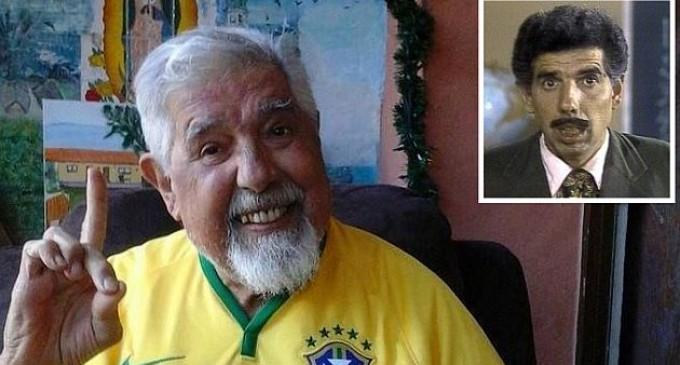 Rubén Aguirre, el 'Profesor Jirafales', no puede caminar por enfermedad