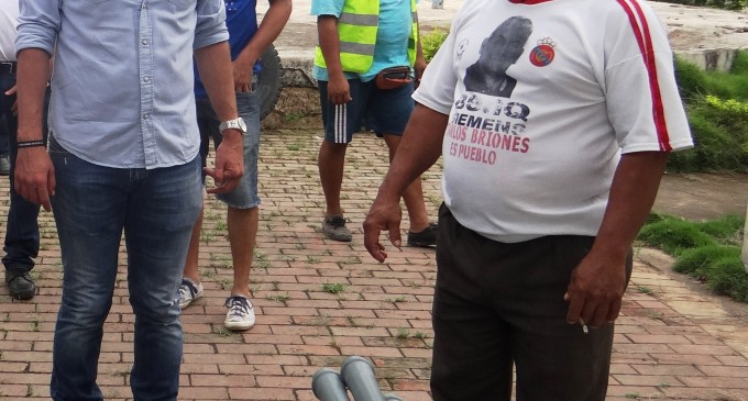 ALCALDE PATRICIO URRUTIA RECORRIO VARIOS SISTEMAS DE DISTRIBUCION DE AGUA