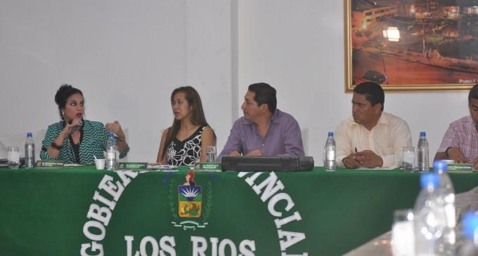 Consejo Provincial de Los Ríos aprobó Proforma y tres ordenanzas