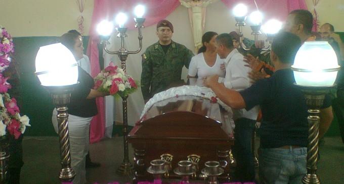 Buena Fe de luto por partida de su Virreina Juleisi.