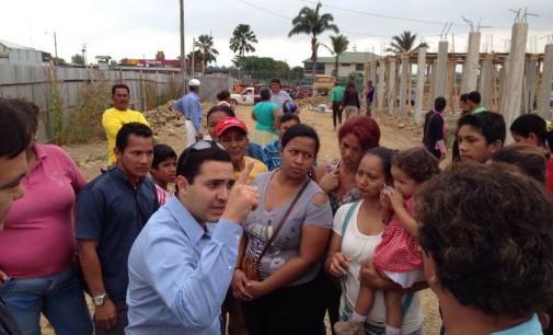 Omar Juez, cuestiona al alcalde Terán sobre reasentamiento