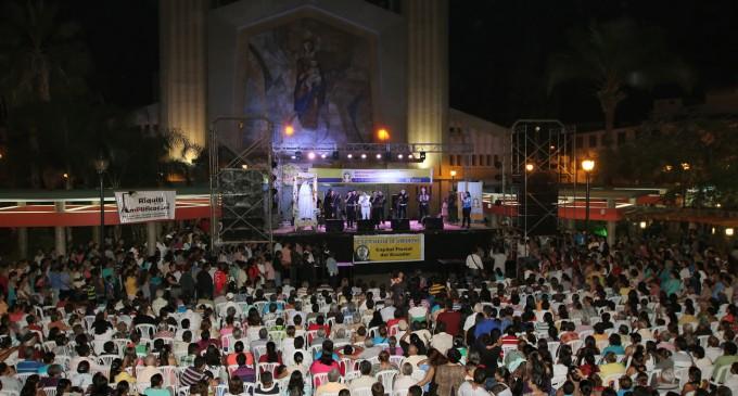 Católicos rindieron serenata a Virgen De La Merced