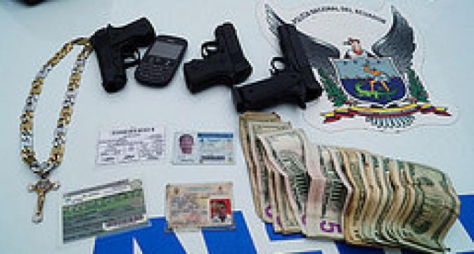Cuatro detenidos por robar con pistola de juguete en Los Ríos