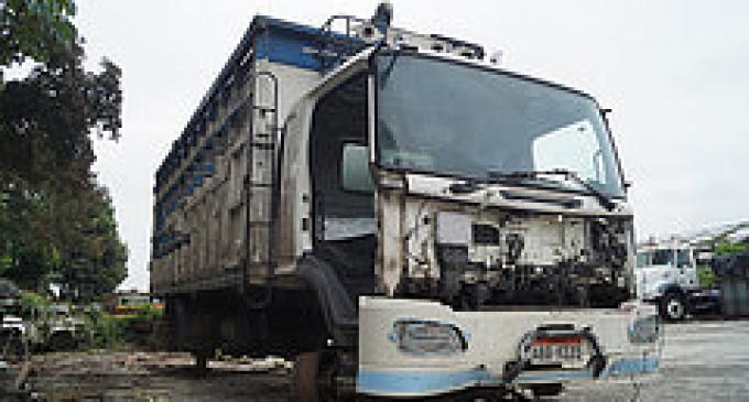 Policía de Los Ríos, recuperó  camión robado con 540 gavetas de mandarinas