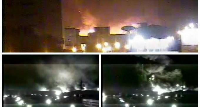 Incendio consumió bodegas de almacenes Juan Eljuri