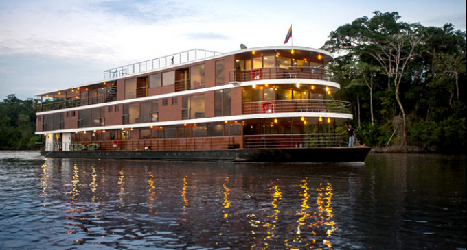Crucero de lujo Anaconda compite en los World Travel Awards