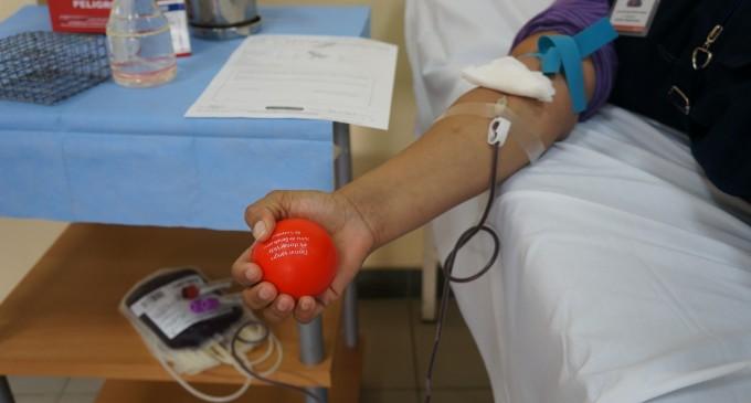 Jornada de donación captó 105 pintas de sangre en Santa Elena