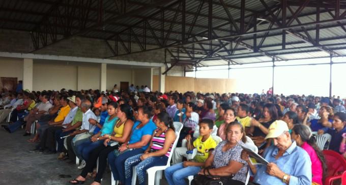 680 títulos de propiedad se entregaron en los cantones de Palenque y Mocache