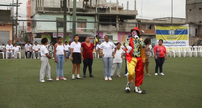 Beneficiarios del proyecto de discapacidad participaron activamente