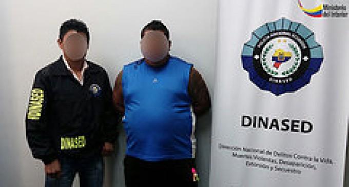Dinased Los Ríos detuvo a tres ciudadanos por presuntos delito de asesinatos