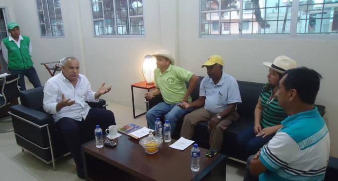 Alcalde Subía mantuvo reunión con Consejo de Pueblos Montubios