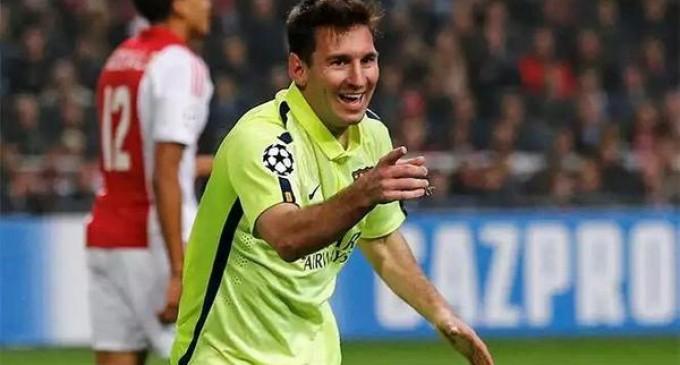 Messi sigue aumentando sus números goleadores