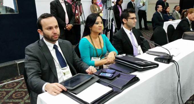 Pamela Falconi delegada al V Foro