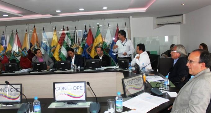 CONGOPE EVALÚA EL PEDIDO DE ENMIENDA CONSTITUCIONAL SOBRE REGIONALIZACIÓN