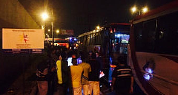 Con fuerte dispositivo de seguridad 150 PPL fueron trasladados de la cárcel de Quevedo a Latacunga