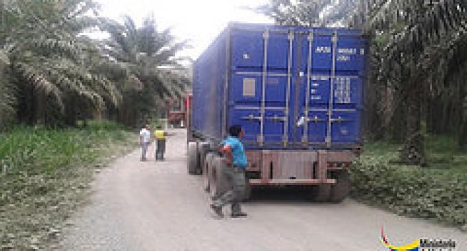 UPMA y MAE decomisaron tres contenedores cargados de madera en Los Ríos