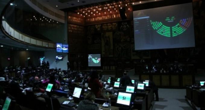 ASAMBLEA APROBÓ PROYECTO DE LEY DEL SECTOR ELÉCTRICO