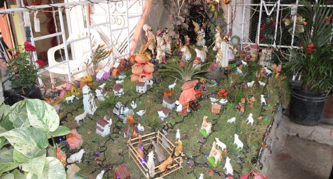 FAMILIAS BABAHOYENSES PARTICIPAN EN CONCURSO DE PESEBRES