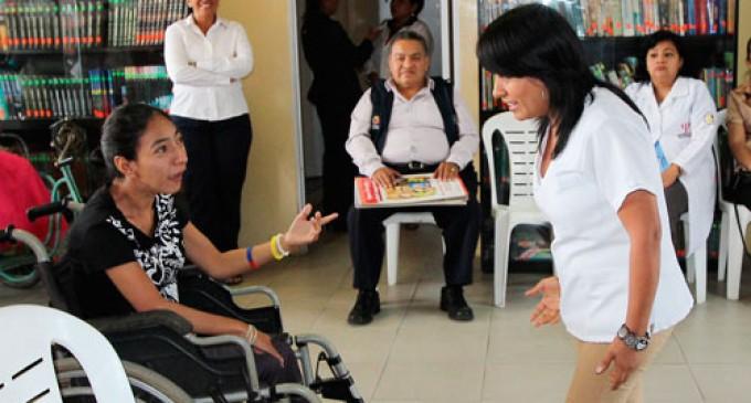 Con juegos y deportes se celebra el día de las personas con discapacidad